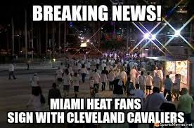 Heat Fans Meme - miami heat fans be like meme