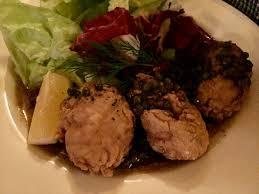 cuisiner la cervelle d agneau cervelles d agneau aux câpres picture of soir melbourne
