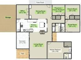 cottage floor plans one story best cottage floor plans