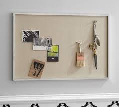 pin board reed polished nickel pinboard pottery barn
