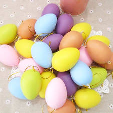 Jumbo Plastic Easter Eggs Decorations by Easter Eggs Plastic Lot 36 Piece Jumbo Colorful Printed Spring