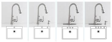 3 kitchen faucets moen haysfield single handle pull sprayer touchless kitchen
