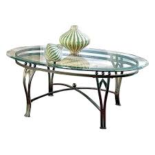 furniture small oval coffee table brass glass coffee table