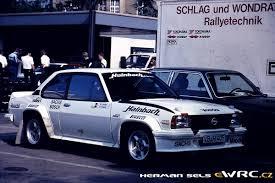Heinz Walter Schewe Erhard Ricken Opel Ascona 400
