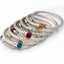 stainless steel bracelet bangle images Cheap bangles steel find bangles steel deals on line at jpg