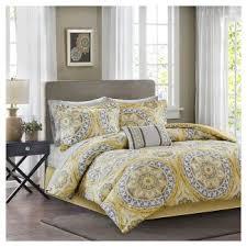 yellow comforters target