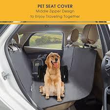 tech traders heavy duty waterproof dog seat cover auto rear seat