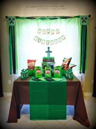 minecraft party decorations 67 best minecraft images on birthday party ideas