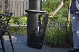glass tube patio heater the faber tube patio heater