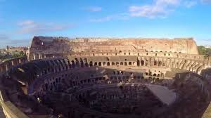 dji phantom 2 over around in the colosseum in rome youtube