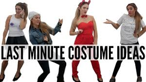 diy halloween for women last minute diy halloween costume ideas cheap quick youtube