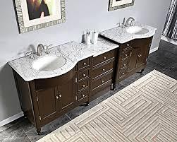 Modular Bathroom Vanity Silkroad 95 Modular Bathroom Vanity Espresso Finish With