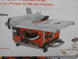 ridgid table saw miter gauge auction nation auction phoenix tools and contractor s supply