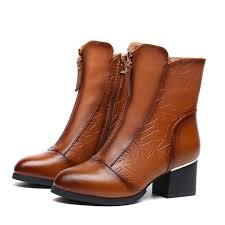 s boots plus size calf aliexpress com buy 2017 fashion winter s boots genuine