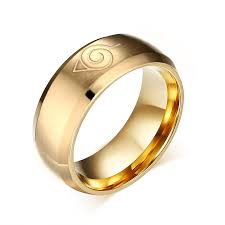 japanese wedding ring aliexpress buy anime ring jewelry 8mm black gold