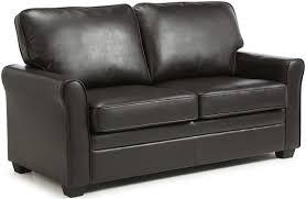 Brown Faux Leather Sofa Buy Serene Naples Brown Faux Leather Sofa Bed Cfs Uk