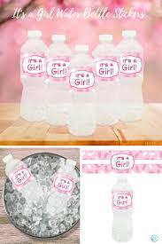 it u0027s a baby shower water bottle labels set of 20 water