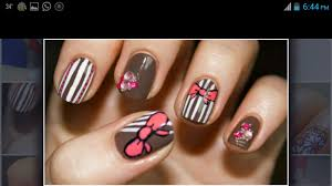 easy nail art designs 1 diy pretty black pink silver nail art