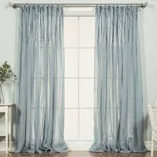 Sheer Pinch Pleat Curtains Lark Manor Poivrée Solid Sheer Pinch Pleat Single Curtain Panel