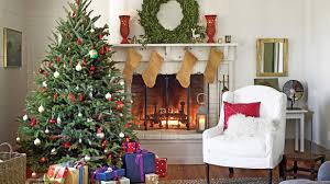 Pictures Of Homes Decorated For Christmas On The Inside Christmas Tree Decorating Ideas Southern Living