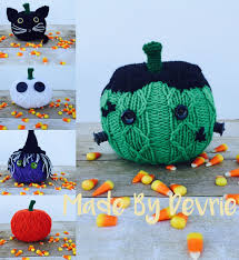 halloween knitting patterns in the loop knitting