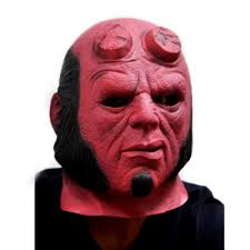 wholesale horror movie superhero hellboy cosplay latex masks