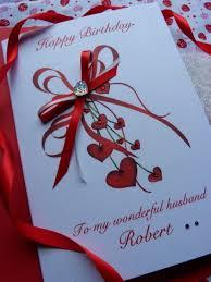 Handmade Cards For Birthday For Boyfriend Personalised Handmade Birthday Card Wife Girlfriend Friend Husband