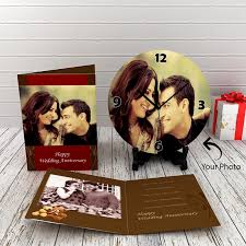 anniversary clock gifts anniversary gift ideas for husband giftforeveryone