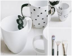 the simplest diy coffee mugs