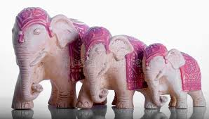 elephant ornaments stock photo image of statues india 5152574
