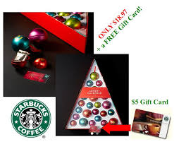 starbucks christmas gift cards starbucks 25 off your 60 order free shipping u003d advent