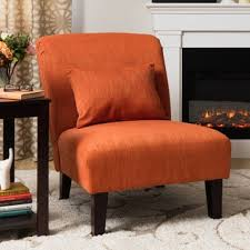 Burnt Orange Accent Chair Orange Accent Chair Free Shipping Today Overstock