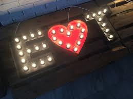 lighted marquee letters lighted wall letter marquee light