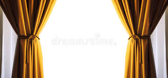 Gold Color Curtains Curtains Empty Free White Space Frame Gold Color Png Available