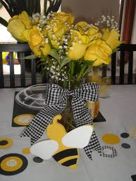 Centerpieces For Baby Showers by 31 Bee Themed Baby Shower Decorations