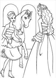 riding horse coloring pages barbie fairy secret coloring barbie