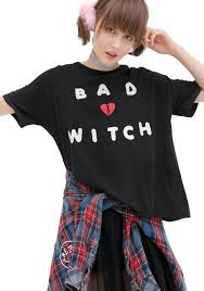 wildfox couture bad witch t shirt costume dolls kill