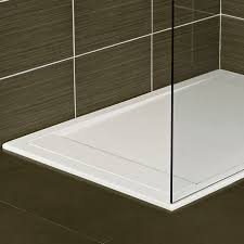 rectangular shower base solid surface infinity