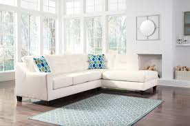 Ashley Furniture Sectional Kirwin White Sectional 99604 By Ashley Furniture Nuvella Fabrics