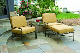 Ways To Add Color With Outdoor Furniture - Yellow patio furniture