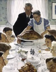 freedom from want norman rockwell thanksgiving painting
