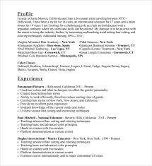 Hairstylist Resume Template Resume Examples For Massage Therapist Entry Level Massage