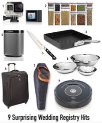 wedding registry electronics level up baking equipment the essential wedding registry checklist