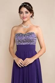 robe violette mariage robe violette pour mariage longue bustier coeur pailleté