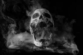 skull in smoke stock photo image of spooky abstract 73078144