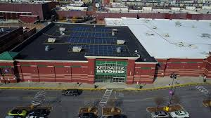 bed bath beyond gateway mall aerial view bed bath beyond staples stock video