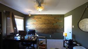 Wood Paneling Walls by Wood Panel Wall Install Youtube