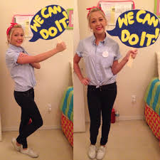 Softball Halloween Costumes Diy Rosie Riveter Costume Fun Costumes