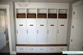 my new organized mudroom small bench lockers and bench