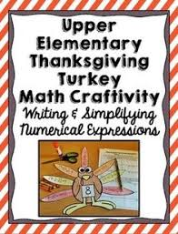 thanksgiving fractions color the turkey feathers problem